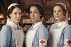 Oona Chaplin (centre) is marvellous as the dark and  brooding nurse Kitty Trevelyan.