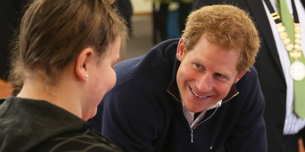 Prince Harry's southern sightseeing