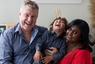 Infertility has left emotional scars on John and Komal Appleby despite the arrival of son Amarin. Photo / Dean Purcell