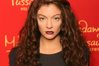 Lorde's waxwork figure is unveiled at Madame Tussauds in Hollywood. Photo/Getty