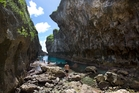 There's plenty to surprise and delight in Niue, including the picturesque Matapa Chasm. Photo / Brett Phibbs