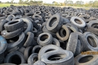The stockpile in Kawerau already holds an estimated 200,000 tyres.