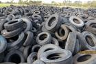 The stockpile in Kawerau already holds an estimated 200,000 tyres.