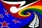 NZ flag option designed by Richard Aslett. Photo / Supplied