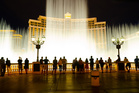 The Bellagio fountains are choreographed with music and light. Photo / 123RF