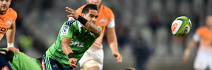Aaron Smith of the Highlanders during the Super Rugby match against the Toyota Cheetahs. Photo / Getty Images