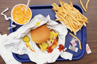 Samples were taken before and after 10 days eating exclusively junk food. Photo / Thinkstock