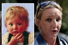 Ben Needham (inset, in 1991) and his mother Kerry (right). Photo / Supplied, Getty Images