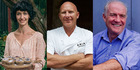 Some of the stars of The Farm's Food and Wine Event Series for 2015 include Eleanor Ozich, Matt Moran and Rick Stein. Photos / Supplied