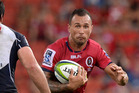 The Queensland Reds could yet welcome back injured star Quade Cooper for Friday night's clash with the Sharks at Suncorp Stadium. Photo / Getty Images
