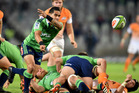 Halfback Aaron Smith had two tries as the Highlanders downed the Cheetahs 45-24 this morning. Photo / Getty Images