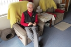 Charmaine McGlone knits dog jackets for the CHB SPCA, among many other community works.