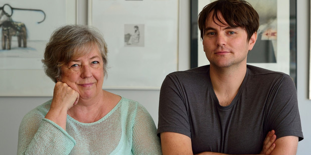 Linda Olsson and Thomas Sainsbury blend big issues with personal storylines in their crime series. Photo / Kathrin Simon