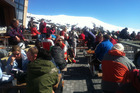 Whakapapa Cafe on Ruapehu. Photo / Jane Jeffries