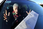 Auckland Transport says the value of general parking fines has not risen for 15 years. Photo / File