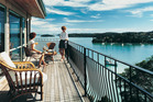Cliff Edge lodge is set in the hills above Opua and looks out to Russell and Paihia. Photo / Supplied
