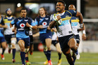 Brumbies winger Henry Speight runs away to score against the Bulls in their Super Rugby clash. Photo / Getty Images