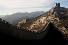 The historic Great Wall of China. Photo / NZME.