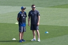 Black Caps captain Brendon McCullum and coach Mike Hesson have helped take New Zealand cricket to a new level. Photo / Brett Phibbs