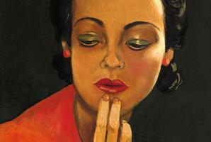 Francis Picabia's Sans titre (Visage de femme) sold at auction for US$701,000 in May. Image: Christie's.