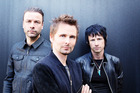 Muse, from left, Chris Wolstenholme, Matthew Bellamy and Dominic Howard. Photo / Supplied