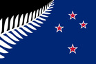 Silver Fern with Southern Cross Designed by: Kyle Lockwood