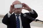 Economic Development Minister Steven Joyce was unable to recover research and developments grants from failed touchscreen developer NextWindow. Photo / Hawkes Bay Today