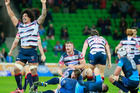 The Melbourne Rebels beat the Bulls to end the South African side's playoff hopes. Photo / Getty