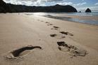 New Chums Beach. Photo / Alan Gibson