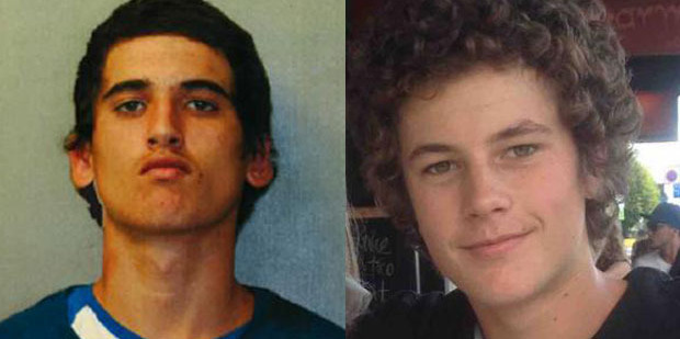 Beauen Wallace-Loretz (left) and Leonard Nattrass-Berquist are accused of murdering Ihaia Gillman-Harris in a motel room in Epsom.