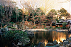 The Shnichi Teien (Sacred Pond garden). Photo / Supplied