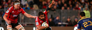 Nepo Laulala signed for the Chiefs from the Crusaders. Photo / Getty Images