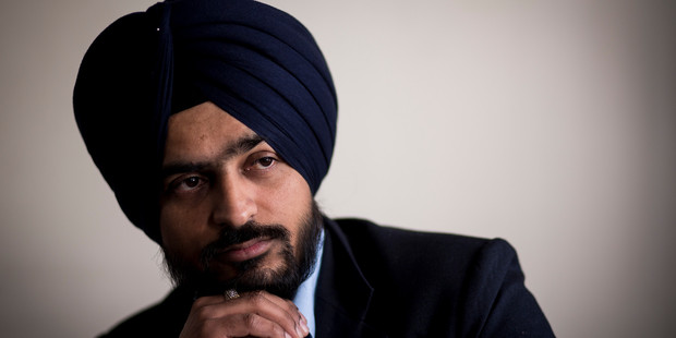 Gurpreet Singh says he tried to explain the turban was part of his faith. Photo / Dean Purcell