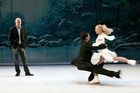 Tony Mercer interweaves the skaters' sequences into the storyline of Sleeping Beauty. Photo / Supplied