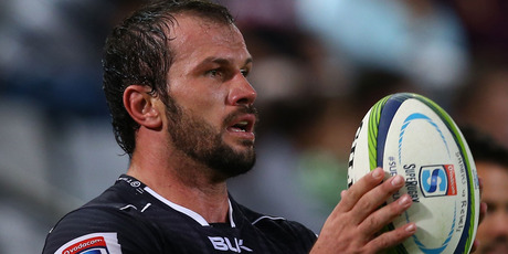 The Sharks sent hooker Bismark Du Plessis out with a win in his last game. Photo / Getty Images