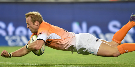 Sarel Pretorious scored one of the Cheetahs' six tries as they beat the Bulls. Photo / Getty Images