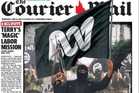 News Corp papers added the ABC logo to a terrorist flag. Photo / Supplied
