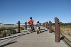 The Caroline Bay walkway near Timaru is a great place to take the kids. Photo / Supplied