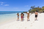 Enjoy New Caledonia's magnificent white sand beaches. Photo / Supplied