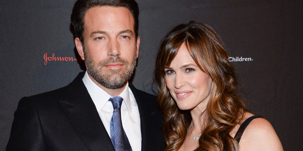 Ben Affleck and his wife actress Jennifer Garner during happier times in 2014. Photo/AP