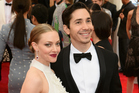 Amanda Seyfried and Justin Long. Photo / Getty Images