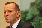 Australia's Prime Minister, Tony Abbott.