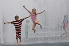 Britain had its hottest day in 160 years yesterday with temperatures rising to 36.7C at Heathrow in London. Photo / AP