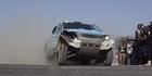 Drivers compete in Kalahari desert race