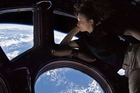 Virtual reality headsets will beam back to Earth what the crew on the International Space Station see. Photo / Nasa