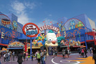 Krustyland, The Simpsons' ride at Universal Studios, Hollywood. Photo / Supplied