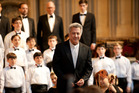 Dustin Hoffman says his role as Master Carvelle in Boychoir would have been supporting if they didn't want someone to draw people in.
