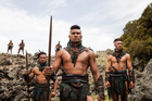 Movies such as The Dead Lands are part of New Zealand's growing film industry.