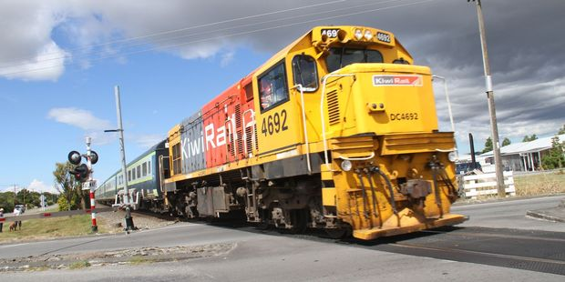 Closure of the entire KiwiRail freight network was an option if the company didn't get more public funding earlier this year. Photo / Andrew Bonallack