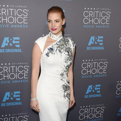 Red carpet: Critics' Choice Movie Awards Actress Jessica Chastain attends the Critics' Choice Movie Awards. Photo / Getty Images